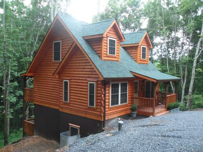 Photo for Eagles Dream  Luxury  Newly Build Log Cabins
