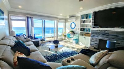 New, Renovated Luxory Beachfront! Non crowded beach open! Gated-AC, No stairs