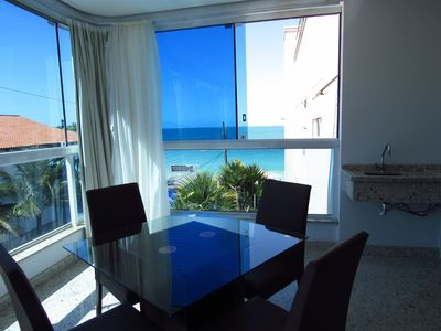 Photo for Code 511 Apartment Waterfront in Bombinhas with 03 suites and pool