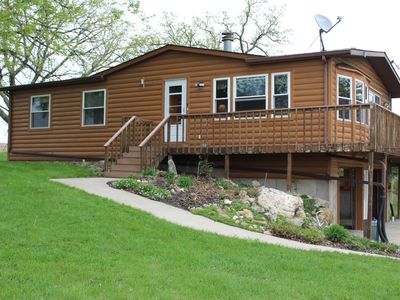 27 Acre Northeast Iowa Wooded Property with Cabin on a Trout Stream