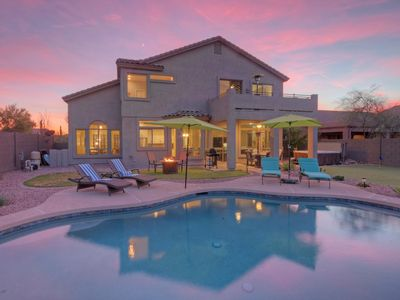 Photo for Custom, Remodeled Home on Las Sendas Golf Course; Option to Heat Pool; Hot Tub