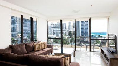 Photo for **NEW LISTING** Gorgeous 2 Bedroom in the Heart of Surfers Paradise OCEAN VIEWS!