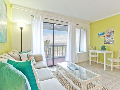 Photo for Beautiful Beach View 1 BR Condo, Only Steps to Beach, with Pool!