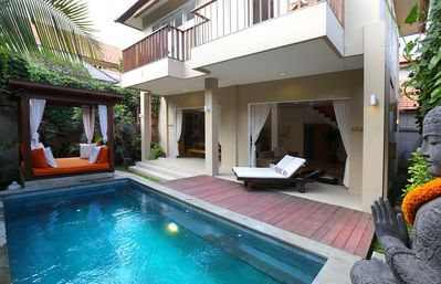 Photo for Del Mar 2, 2 Bedroom Villa, Right by the Beach, Seminyak