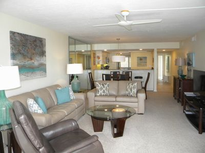 Photo for Compass Point #111 Gulffront Condo, Spectacular view with private Cabana 2 bedroom + Den