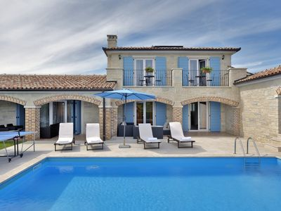 Photo for Stone Villa Luan, in Istria, with a Pool
