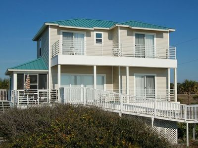 Photo for BEACHFRONT 3 Bedroom home with Boardwalk to Beach