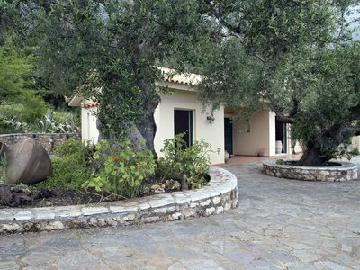 Photo for Country House in olive grove with stunning sea views