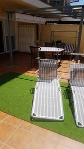 Photo for Torrequebrada, beautiful apartment with 50 meters of private terrace. Wifi