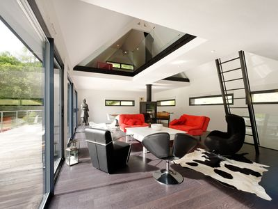 Photo for OUTSTANDING CONTEMPORARY CHALET IN A BRIGHT QUIET