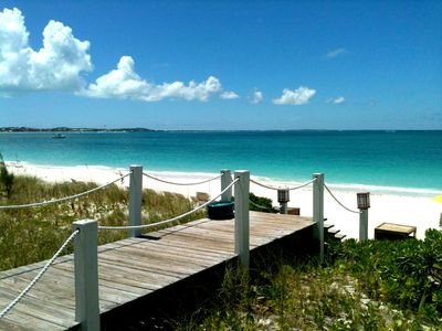 The Grace Bay Beach and VIP Club are steps away!