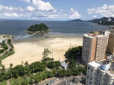 Photo for Santos standing on the sand- José Menino Beach APARTMENT DECORATED