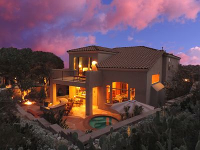 Photo for Gated La Paloma Home, Private Lot with City & Mountain views