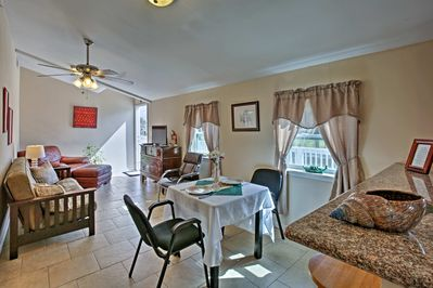 Stay at this 1-bedroom, 1-bath Theriot vacation rental apartment in the bayou!