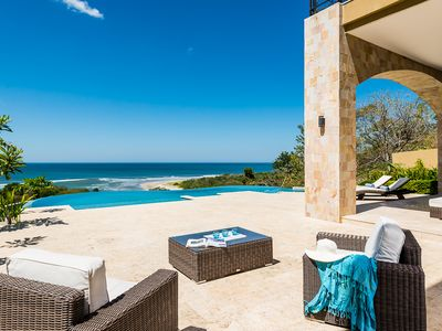 Photo for luxery villa - increadible sunset, gated community, ocean view, very private