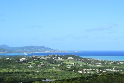 View of Christiansted from gallery