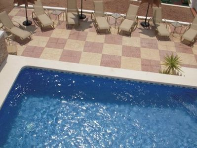 Swimming Pool with Sun terrace. Villa No2