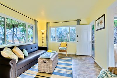 Bright and Spacious Beach Inspired Living Room