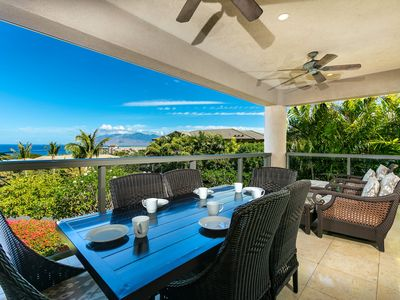 Photo for New Listing!  Highly sought after largest floor plan at Ho'olei Villas! 17-1