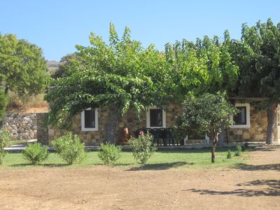 Photo for Traditional Greek stone cottage set in quiet countryside.