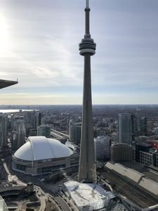 Photo for Skytrees Premier Suite Downtown Toronto with amazing CN Tower view and lake view