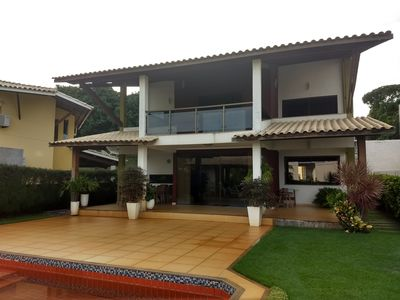 Photo for House 5 suites fully air conditioned, Guarajuba - Cond. Paradise of the Lakes