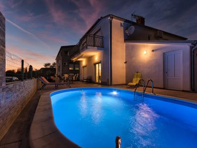 Photo for Pleasant family house with the pool and animations for the children