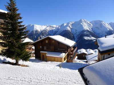 Photo for Bettmeralp Apartment, Sleeps 2 with WiFi
