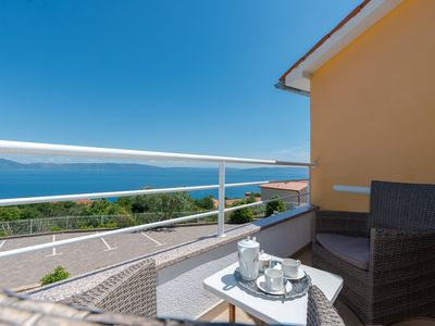 Photo for Holiday apartment with 3 terraces and sea view