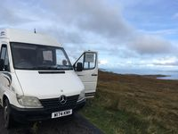 We had a wonderful time touring Scotland in Angelique's camper van. All the amenities were available