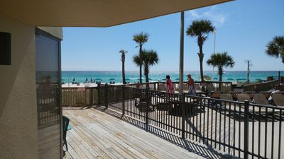 Photo for Sunbird Beach Front Ground Floor Condo.  PCB Complete Renovation!