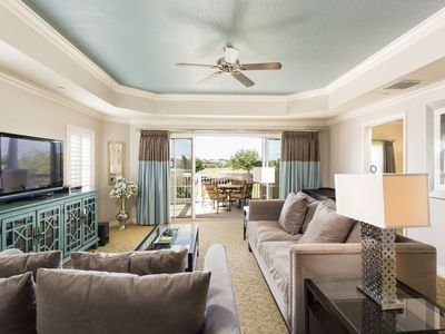 Photo for Luxury Condo with Great Golf Views! Elegant Decor Near Disney!