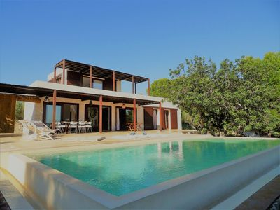 Photo for Villa with private pool, sandy beach at 3 min, kayak for 2 people and wifi