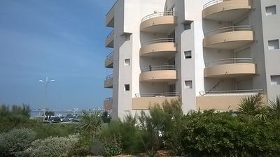 Photo for Studio in building directly on the beach in Pornichet