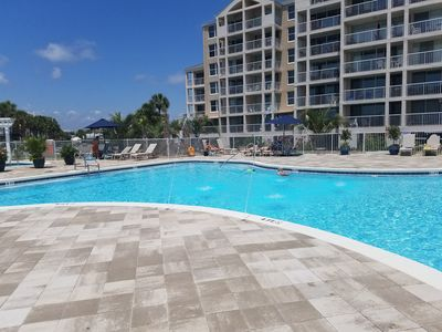 Large Condo Heated Pool