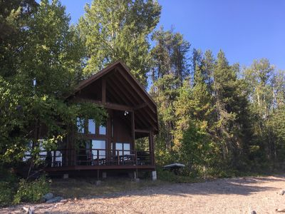 Photo for Spectacular Glacier Park Cabin, On Lake McDonald, Unsurpassed Views and Access!