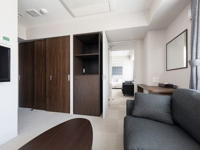 Photo for Connecting Twin Room 1 to 4 people Free Wifi / Sapporo Hokkaido