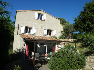 Photo for House 4 people in the hills of Pagnol, near the sea