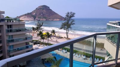 Photo for Excellent apart hotel facing the sea. THE BEST OF RECREIO!
