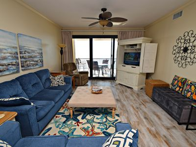 Photo for Romar House A903 - Spacious Gulf front Unit! Book now for the best Fall rates!