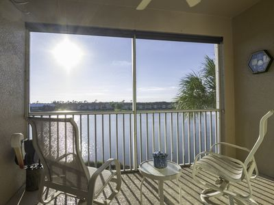Photo for Bundled Golf Available with this Affordable Cypress Woods Nightly Sunset View Condo!