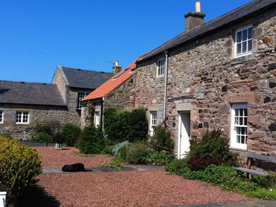 Photo for Charming Cottage in Prime Position with Castle Views, Parking, WiFi, Open Fire.