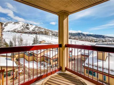 Photo for Spacious Slopeside Condo w/Base and Summer Mountain Views!
