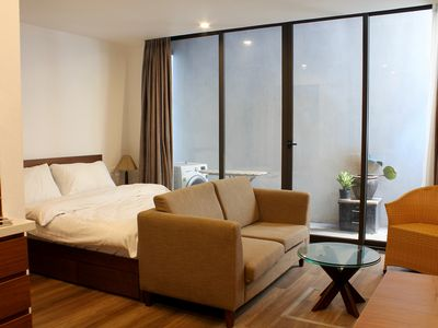 Photo for DIS 20%@ Comfortable Studio 1 Bed with balcony near West Lake