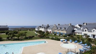 Photo for APARTMENT WITH SEA VIEW HEATED SWIMMING POOL FINISTERE SOUTH