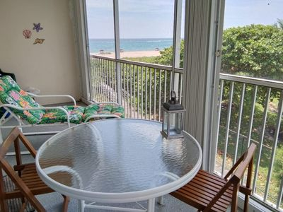 Photo for Stay on the beach with sea view 1br apartment