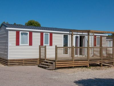 Photo for Alluring Mobile Home in Canet-en-Roussillon with Pool