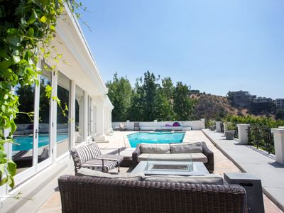 Photo for Stunning Hollywood Hills Diamond Villa With Incredible Views, Pool, Hot Tub