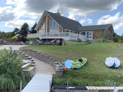 Photo for 3 acres of Private waterfront property