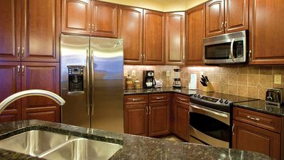 Enjoy a fully-equipped kitchen!
